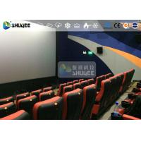 CE Approval 4D Digital Cinema Equipment With Curved Screen / HD Projectors Manufactures