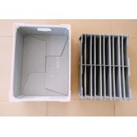 Customized Corrugated Plastic Components Box With Plastic Divider Manufactures