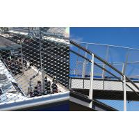 Inox Architectural Flexible Cable Mesh Stainless Steel Wire Rope Balustrade Manufactures