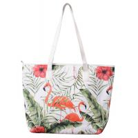Buy cheap Polyester Large Beach Bag Tote Unisex Fashion With PU Handle from wholesalers