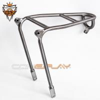 Lightweight Brompton Bicycle Parts Rear Rack Mini Luggage Shelf Q Type Rear Rack Manufactures