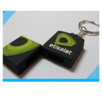 fashion custom soft PVC USB flash drive with keychain Manufactures