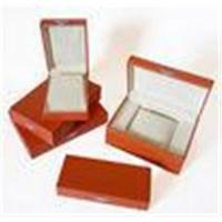 Customized Wood or cardboard gift box packaging with Embossing Logo for jewellery Manufactures