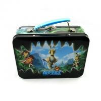 China Food / Toy Packaging Metal Tin Lunch Box , Cutstom Printed Tin Containers With Cover on sale