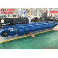 Offshore Hydraulic Hoist Cylinder NiCr Plating Rod 400x  250x  2250mm Manufactures