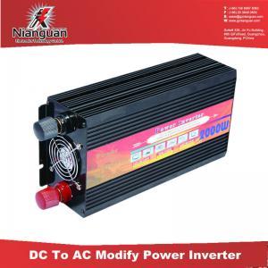 Cheap ! Solar modified sine wave inverter 12V to 110V 220V 2000W Manufactures