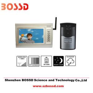 China Wireless video door phone on sale