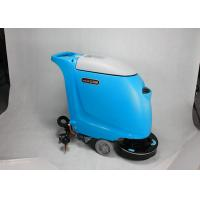 Custom Battery Type Walk Behind Floor Scrubber Medium Sized With 40L Solution Tank Manufactures