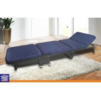 Outdoor Furniture Lightweight Adjustable Folding Camping Bed With Wheels Manufactures