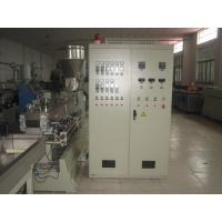 Parallel Twin Screw Plastic Pipe Extrusion Machine , HDPE Extruder Machine Manufactures