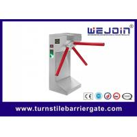 Full Automatic 304 Stainless Steel Intelligent Tripod Turnstile Barrier Gate Manufactures