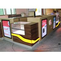 Customized Color Cell Phone Display Case / Mobile Phone Display Cabinet Manufactures