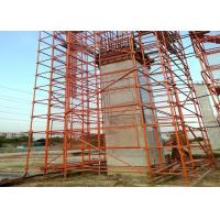 Buy cheap Vertical Metal Steel Cuplock Scaffolding System , Formwork Scaffolding Systems from wholesalers