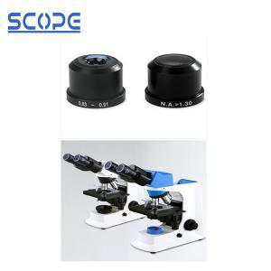 China Precise Laboratory Biological Microscope Smart Dry / Wet Oil Darkfield Condenser on sale