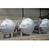 China High Temperature Horizontal Vacuum Furnace Induction Type Graphitization Furnace on sale