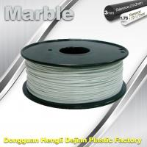 Marble 3D High Strength Printer Filament 3mm / 1.75mm , Print temperature 200°C - 230°C Manufactures