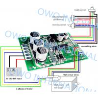 Overload Protection Brushless DC Motor Driver BoardPure Hardware Built Circuit Manufactures