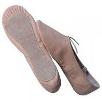 Leather Ballet Shoes, Made of Canvas Fabric Upper and EVA Inside the Insole Manufactures