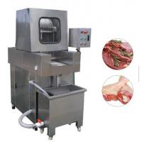 China Stainless Steel Chicken Meat Processing Machine Brine Injection 4.1kw Power on sale
