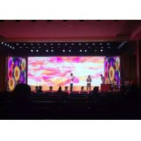 China Wide Viewing Angle High Resolution LED Display  P3.91mm stage rental LED Screen Noiseless on sale