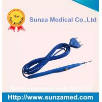 Hand control electrosurgical Pencil with 70mm Teflon  Blade Sunzamed specail hand control pencil S2101BT
