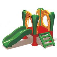 China Childrens Outdoor Plastic Slide Toy in Park and Garden A-18804 on sale