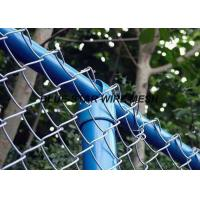 PVC Coated Wire Mesh FencingFlexible Chain Link Fence For Security And Protection Manufactures