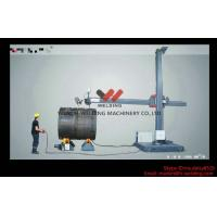 Fixed Vessel Fit Up Welding Manipulator 8 * 8m Automated Welding Equipment With Trolley Manufactures