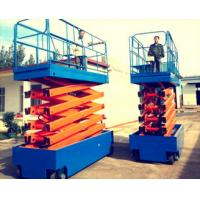 CE stationary truck mounted boom lift , working platform for Restaurant / Hotel Exhibition Hall Manufactures