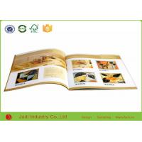 China A4 A3 A5 Custom Catalogue Printing , Size 210 X 285 Mm Business Booklet Printing on sale