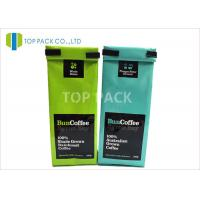 SGS Side Gusset Bags , Aluminum Foil Coffee Tin Tie Doypack Food Grade Manufactures