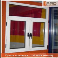 China Horizontal Aluminium Frame Casement Window , Double Panel French Casement Windows aluminum casement window price on sale