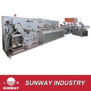 Shanghai sunway full-plastic and aluminum-plastic laminated tube machine Manufactures