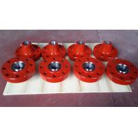Alloy Steel Wellhead RTJ Weld Neck Flanges / Flanged Spool Adapter 2 1/16 Manufactures