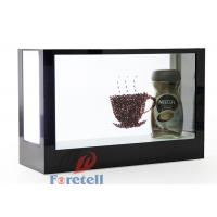 White / Black Transparent LCD Display Transparent Screen Monitor Multiple Language Supported Manufactures