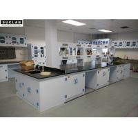 High Temp Resistant Chemical Lab Furniture Workstations With Adjustable Feet Manufactures