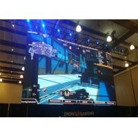 Quality High Refresh Rate Stage LED Screen Video Wall With Die Casting Aluminum Led Cabinet for sale