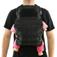 Dad Tactical Baby Backpack Carrier , High Safety Baby Tactical Vest for sale