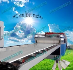 China plastic making machine /wpc foam board manufacturing line on sale