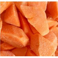Vitamins Contained Frozen Processed Food , Freezing Fresh Carrots IQF Technology Manufactures