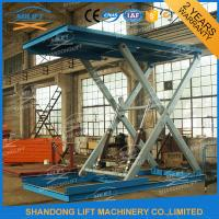 Heavy Duty Hydraulic Car Scissor Lift Manufactures