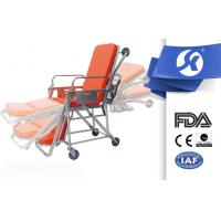 China Multi Function Aluminum Alloy Hospital Patient Trolley Stretcher With Wheels on sale