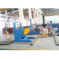 Adjustable Elevating Welding Turntables with 0.12 - 1.2 rpm Rotation Speed Manufactures