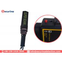 Quality Rechargeable Battery Security Metal Detector Wand 270mW With Vibration Alert for sale