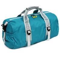 210D Round Sports Bag Womens , Lightweight Gym Bag To Carry Weights Manufactures