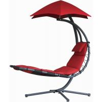 Durable Other Furniture Single Fabric Swing Chair With Canopy , Hanging Patio Chair With Stand Manufactures