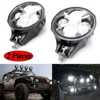 60W CREE LED Work Light Round White Fog Light For Jeep Wrangler Off Road 4X4 Manufactures