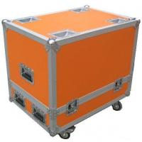 Orange Custom Rugged Flight Case With Butterfly Lock Manufactures