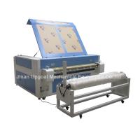 Double Heads 1600*1000mm Co2 Fabric Laser Cutting Machine Manufactures