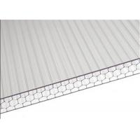 Sandwich Polycarbonate Roofing Sheets High Light Transmission For Carport Manufactures
